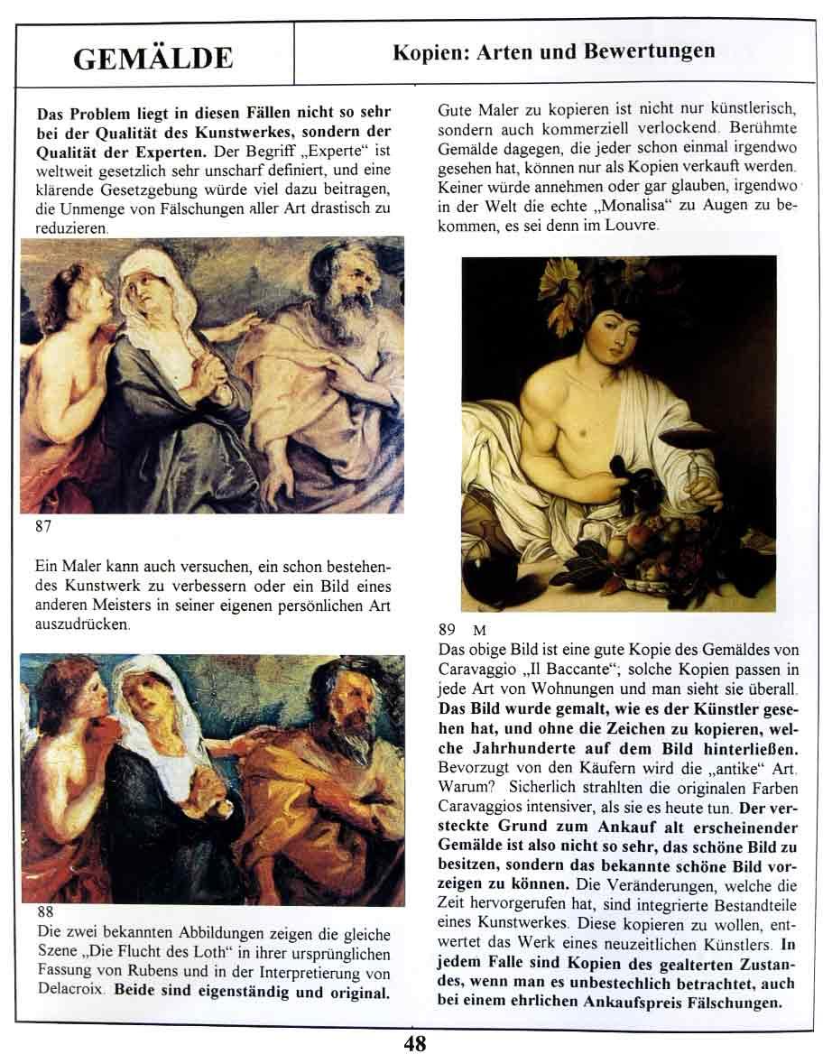 Gemälde Echtheit - Wissenschaftliche Methoden zur Echtheitsbestimmung